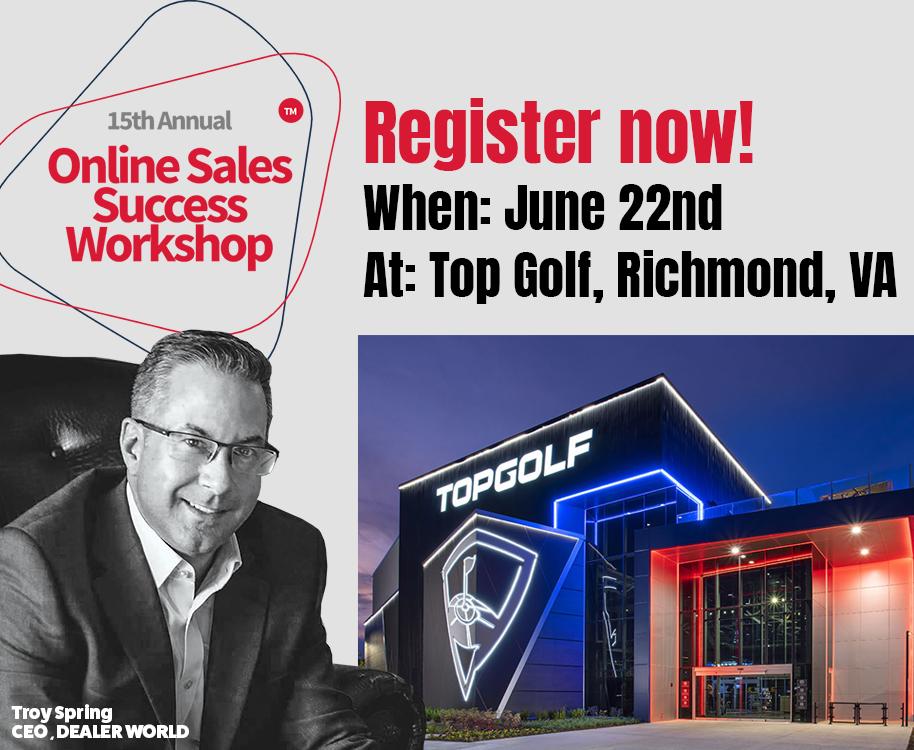 Register for: Online Sales Success Workshop