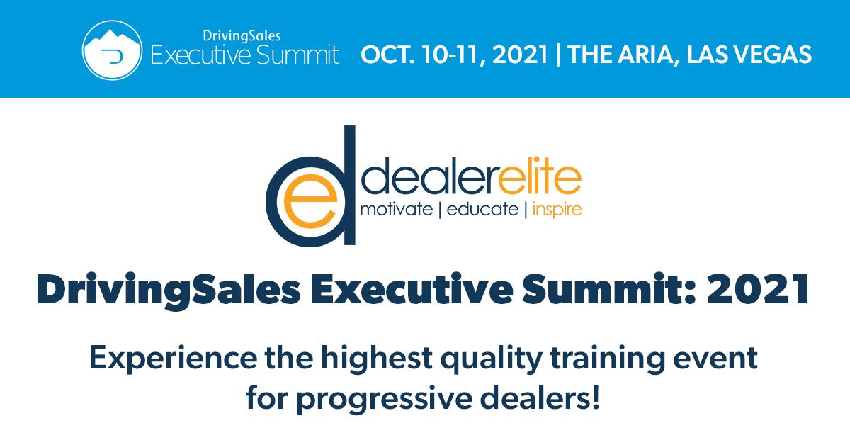 DrivingSales Executive Summit: 2021